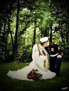 Marine Wedding by BillyHeathPhoto.deviantart.com