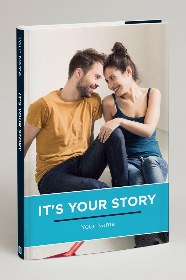 It's YOUR story. Keep it real and keep it special. Select images, a title and a cover that perfectly match your tastes.
