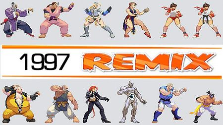 Street Fighter 4 Characters as 2D Street Fighter 3 Sprites