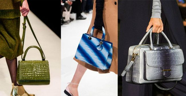 Fashion Handbags Fall-Winter 2014-2015: Alligator