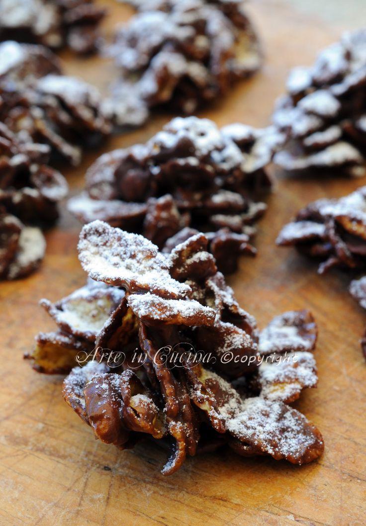 Rose del deserto alla nutella e cioccolato vickyart arte in cucina