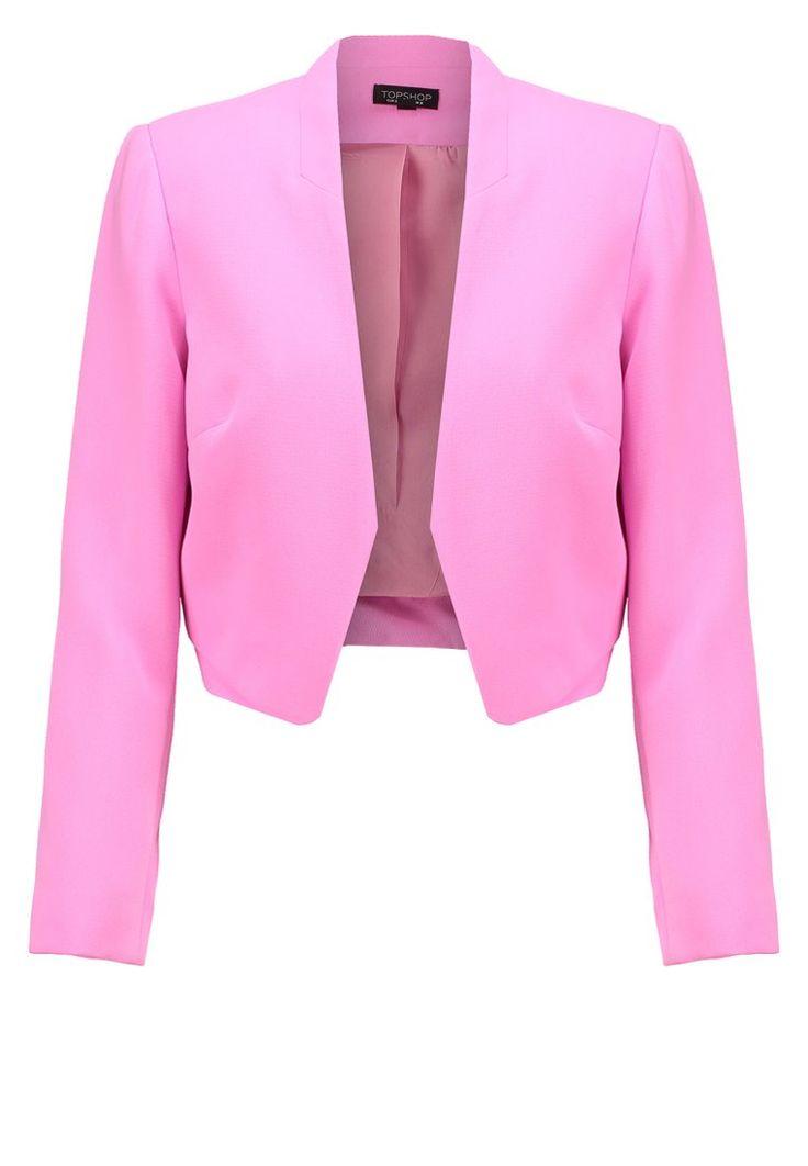 ¡Cómpralo ya!. Topshop Blazer pink. Topshop Blazer pink Ropa   | Material exterior: 100% poliéster | Ropa  , americana, americana, blazer, levita, levita, americanas, americanabásica, blezer, blazerdepunto, frock-coat, jackett, blazers, vestedecostume, americana. Americana  de mujer color violeta rojizo de Topshop.