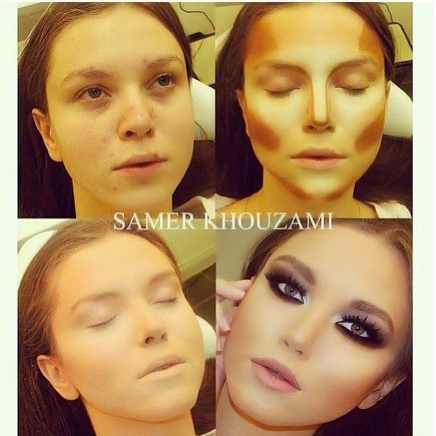 Closet da Imaginação: Maquiagem, Contorno e o Incrível Samer Khouzami