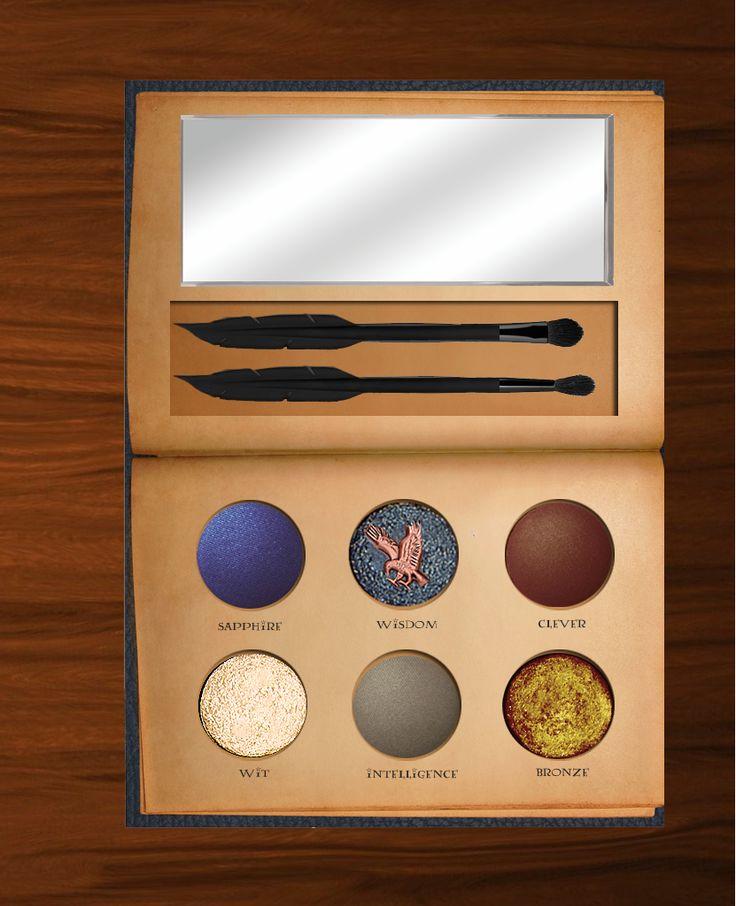 Harry Potter inspired makeup palettes - Ravenclaw
