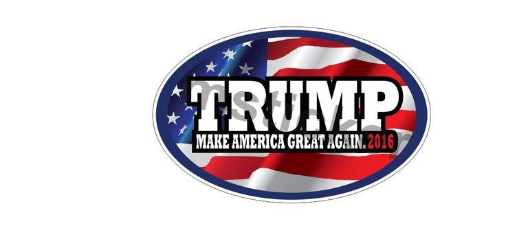 2x Donald Trump Make America USA Great Again Sticker Aufkleber Autocollants digital Print Patriots Car Truck Bike Helmet JDM Notebook by Artgraphixx on Etsy