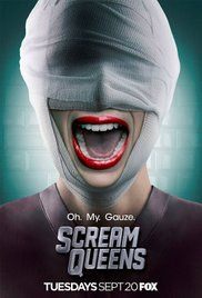 Scream Queens Poster Funny show may not be to everyone's liking  but Very Funny