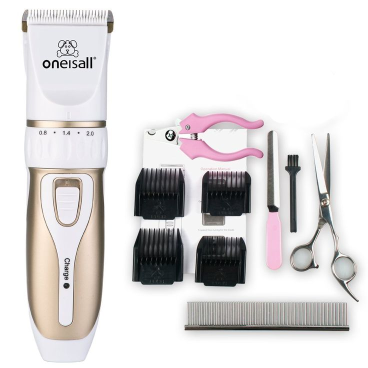 Oneisall Rechargeable Cordless Professional Home Pet Dogs And Cats Grooming Trimming Clipper Kit -- You can find more details by visiting the image link.