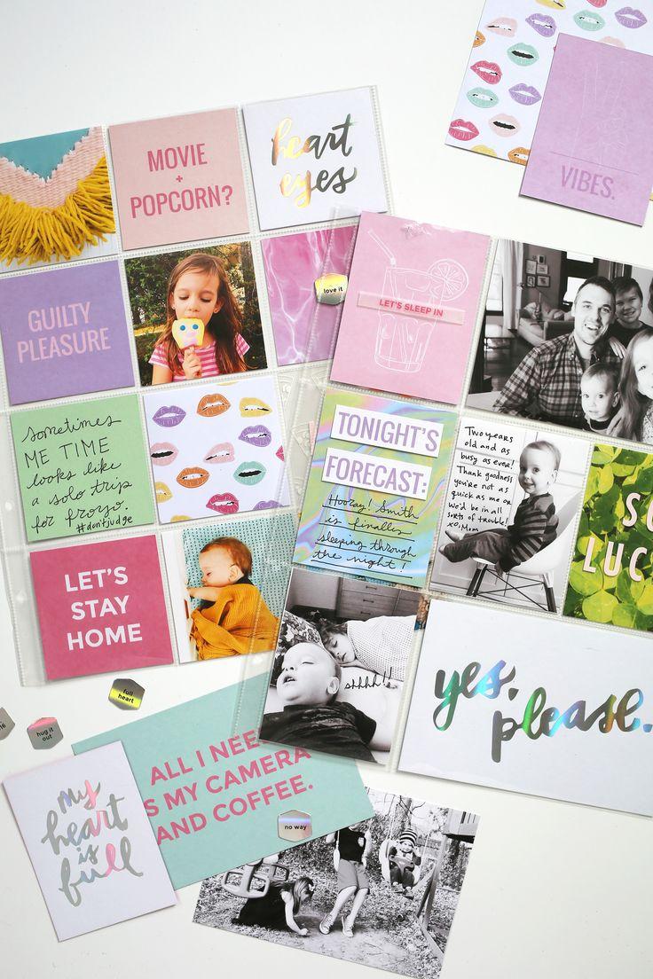 Scrapbook ideas pop up - Scrapbook Sunday March Messy Box