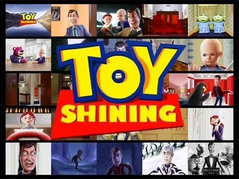 Kyle Lambert - Toy Shining, Toy Story meets The Shining via iPad Paintings