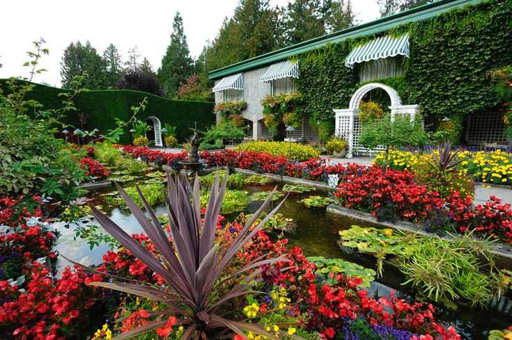 Butchart Gardens-The Italian Garden