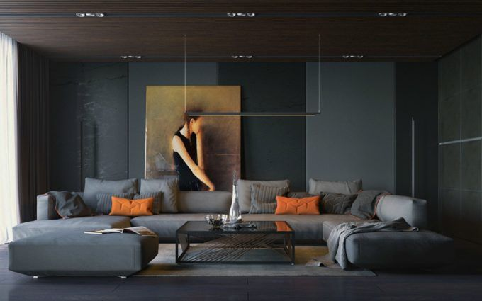 interior design ideas for living room walls
