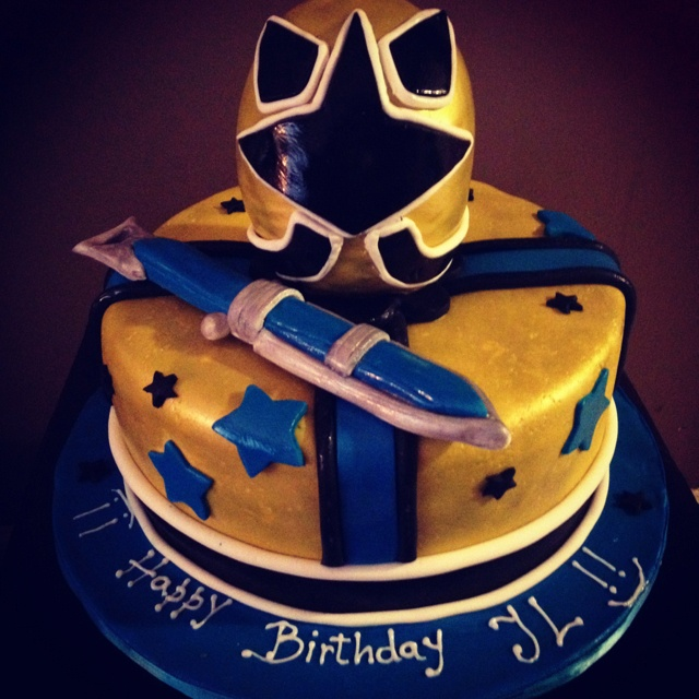 Power Rangers cake-but would need to be red ranger