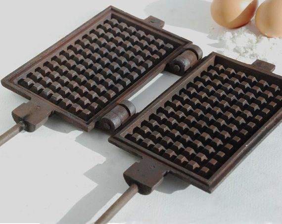 Waffle iron mold Waffle maker French by FrenchTouchBoutique