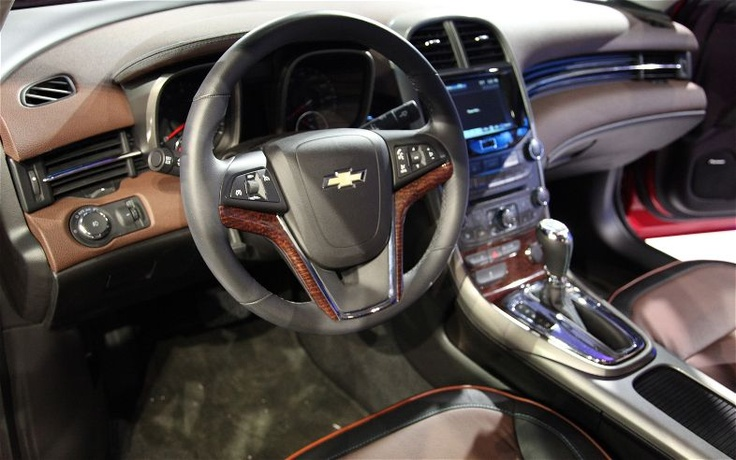 2013 Chevy Malibu Interior