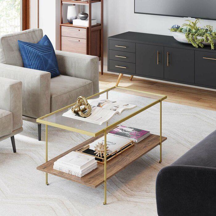 Brayden Studio Kays Coffee Table Wayfair Coffee Table