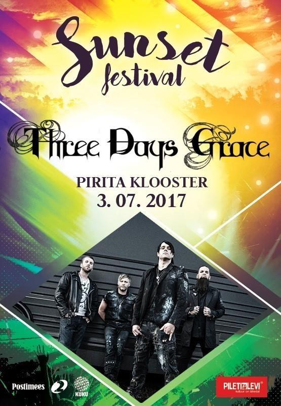 Ensi kertaa Tallinnassa järjestettävä Sunset Festival on poikkeuksellinen musiikkifestivaali. Sen sijaan, että olisi vain yksi festivaalipäivä tai useampia perättäisiä tapahtumapäiviä, on se yksittäisten pitkin kesää ripoteltujen päivien festivaali. Heinäkuussa 3.7. päätähtenä Piritan luostarin raunioissa kanadalainen raskaan rockin Three Days Grace. #eckeröline #sunsetfestival #tallinna #threedaysgrace