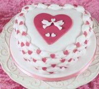Verras je geliefde op Valentijnsdag met dit romantische harttaartje!