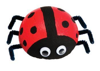 Make some creepy crawlies for Halloween decorations