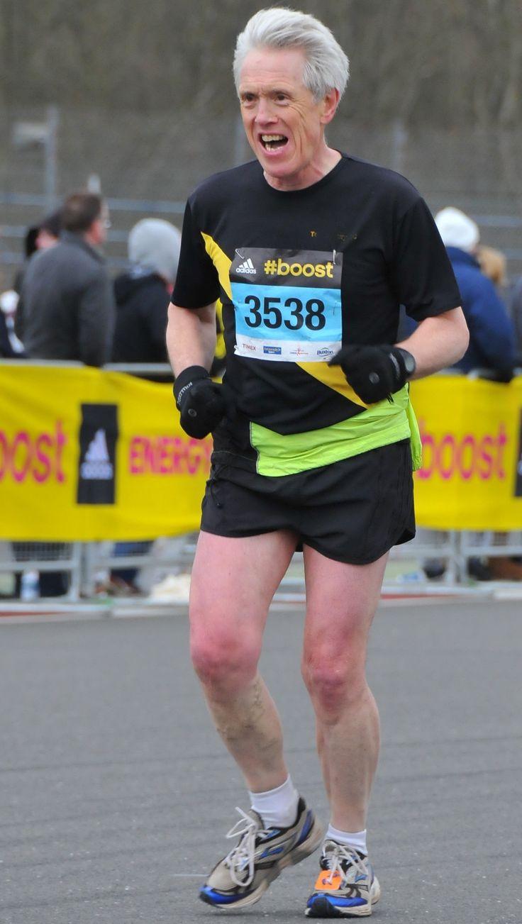Silverstone Half Marathon March 2015 - my 51st half marathon and my first after my back op in 2014