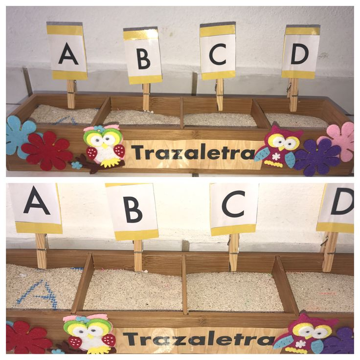 Cajón Sensorial o Cajón de arena, ayuda a desarrollar el motor fino del niño👩🏫👧 (Preschool Ideas)  💡