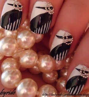 The 20's Nail Art