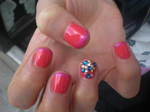 Shellac nail polish. It really does last weeks. definitely worth the