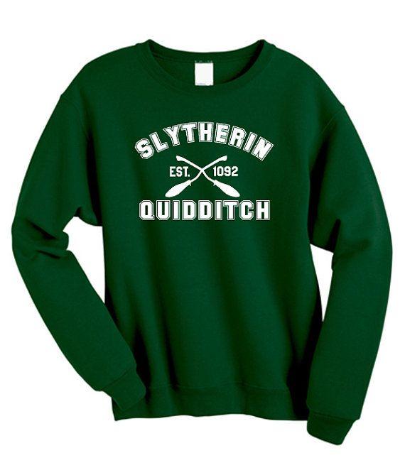 Quidditch Serpentard Harry Potter Shirt Sweat par WhateverTshirts