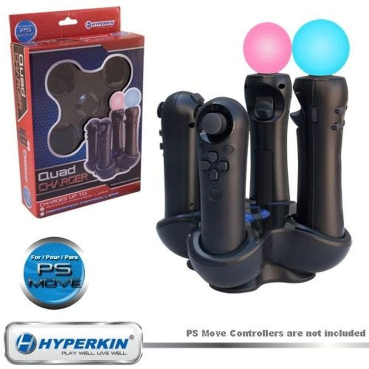 Hyperkin Quad Charger for Playstation 3 Move