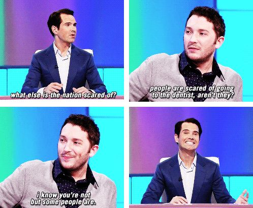 Jimmy Carr and Jon Richardson | 8 out of 10 cats