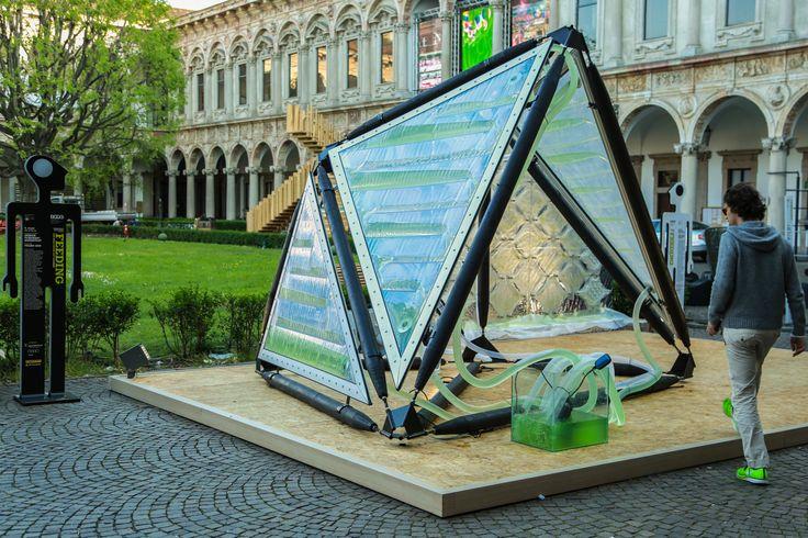 Urban Algae Canopy: le microalghe nella città del futuro