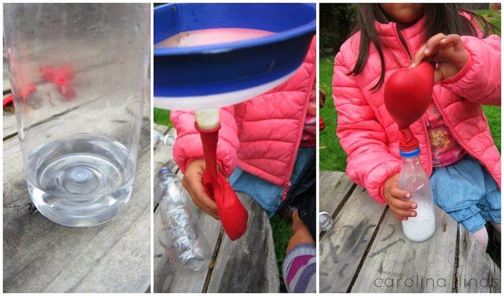 Inflando globos: Experimento para niños | #Artividades