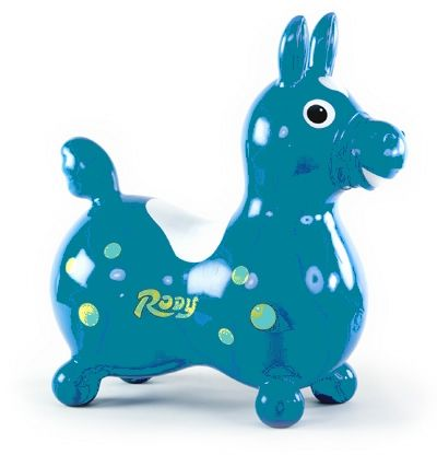 Rody Horse Teal Rody Horse Toys Ride On Toys