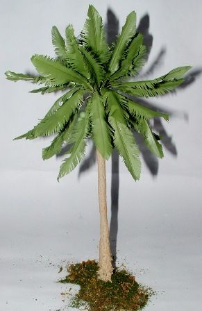 How to make palm trees for a diorama.  I can't find Palm Trees for my Nativity Crèche, so I am going to make them.