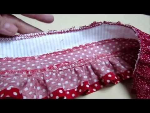 HTM a Ruffled Skirt for your American Girl Doll