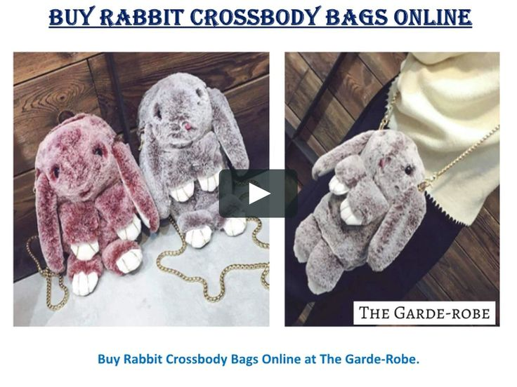 Buy Crossbody Bags For Women Online on The Garde-Robe. Here you can get latest, stylish & Trendy crossbody bags like geometric tassle bags, rabbit crossbody bags & teddy bear crossbody bags at best prices.  For more:- https://vimeo.com/255162701
