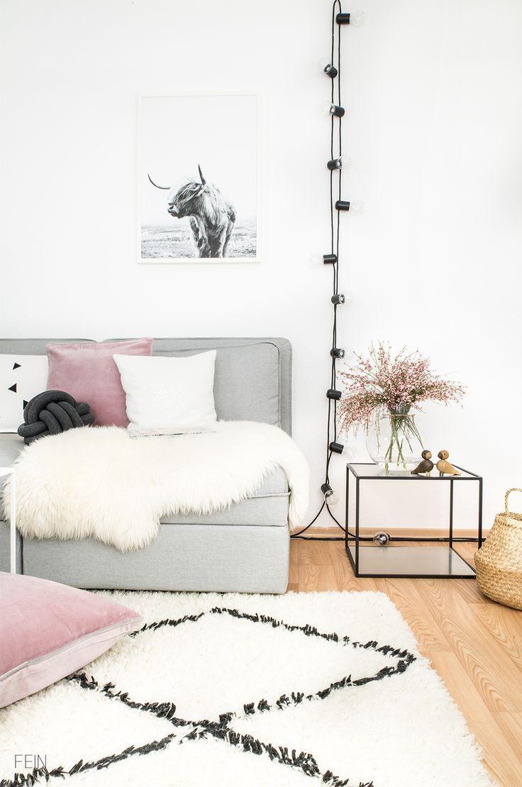 Fruhlingsdeko Im Scandi Stil Einrichtung Kleine Zimmer Einrichten Kleine Wohnung Einrichten