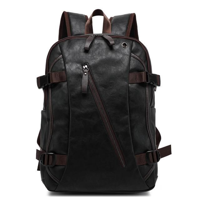 The Western Uni - Men's Feaux Leather Backpack  It's like if your your classes were in the wild west, in the future.    #backpack #streetstyle #ootd #mensfashion #mensbags #leatherbags #mensstyle #instastyle #lookbook #mensbackpacks