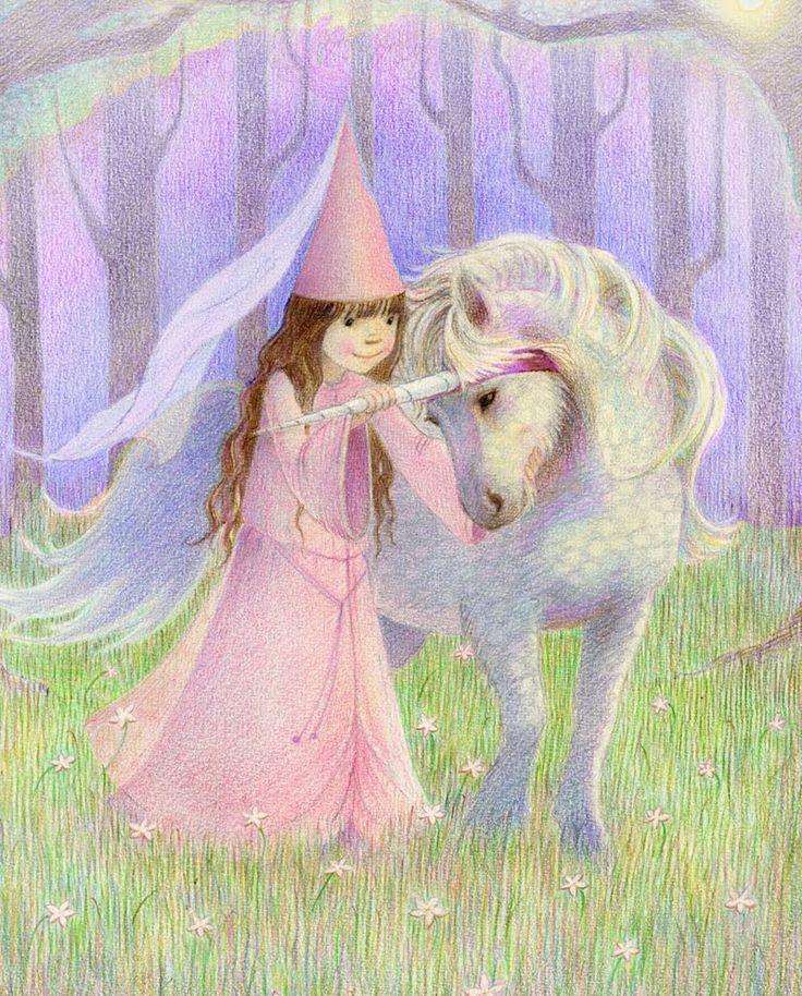 Lottie's little Unicorn by Kathy Hare