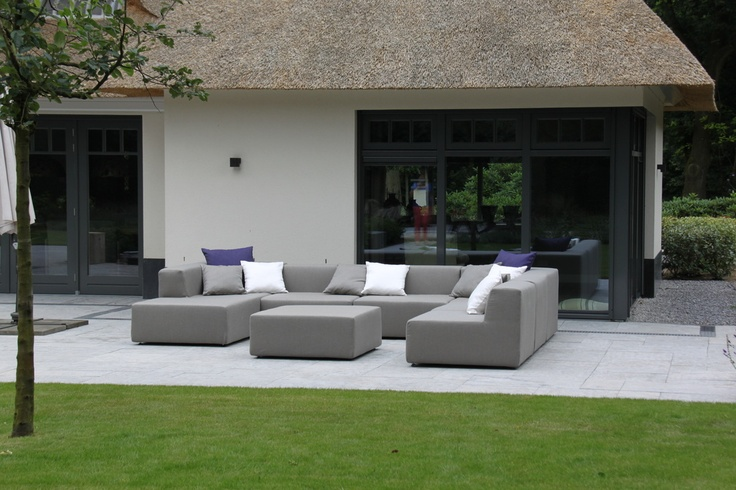 Outdoor Lifestyle exclusieve buitenbank en Outdoor sofa impressie - De specialist voor exclusieve loungemeubelen in Zuid Holland