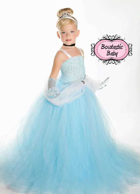 Princess Cinderella style Tutu dress. cute but a little too cheesy for my taste. top could be nicer..