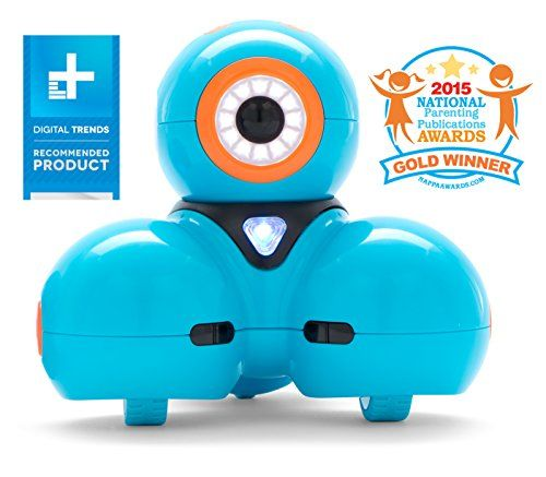 Dash is part friend, part pet, and part robot ready to play and learn with you. Use free Wonder Workshop applications on supported devices to program Dash & Dot to do anything you imagine!