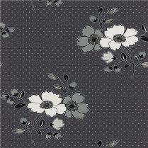 9683-15 errismann bloemen vinyl glitter behang