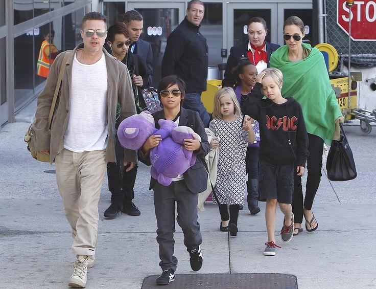 Familia+Jolie-Pitt