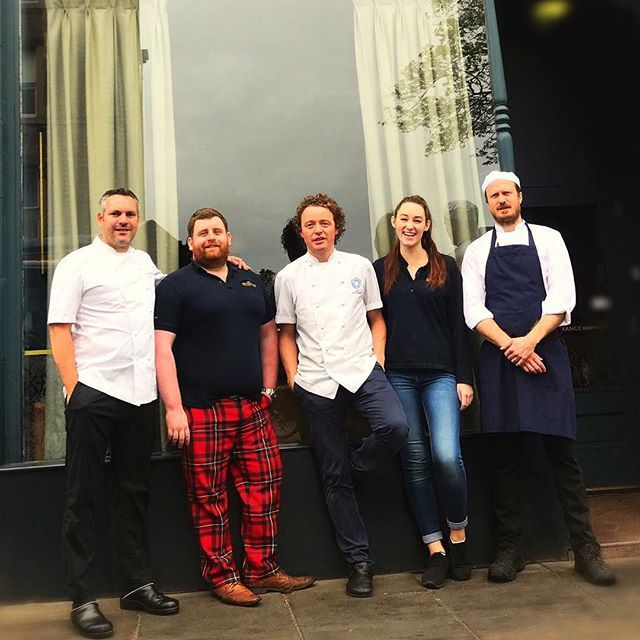 Some of the team getting ready for @pubinthepark in May. We are really looking forward to it! @tom_kitchin @dominicjackct @james_r_chapman @eilidhforbess @rmgc89 @cheftomkerridge #food #edinburgh #scotland #april #may #marlow #tomkerridge #pubinthepark #fun #drinks #music #festival #fromnaturetoplate #scranandscallie #stockbridge #photography #photographer #photoshoot #seasonal #cooking #tartan #chef #scottish #bibgourmand