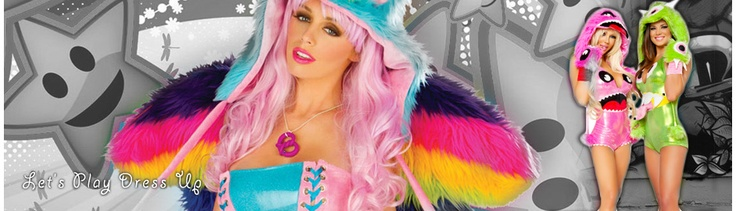 Rave Clothing Store with Clothes, Rave Wear, GoGo Outfits and more! UFO Pants, Raver Clothing, Adjamiba Clubwear, rave girl and more.