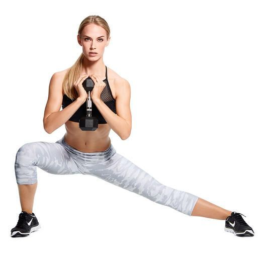 Tone your butt and legs with this quick and effective workout you can do anywhere.