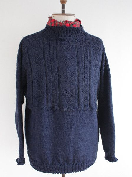 Knitting Patterns For Guernsey Sweaters : 139 best Ganseys images on Pinterest Guernsey, Knit crochet and Knitting