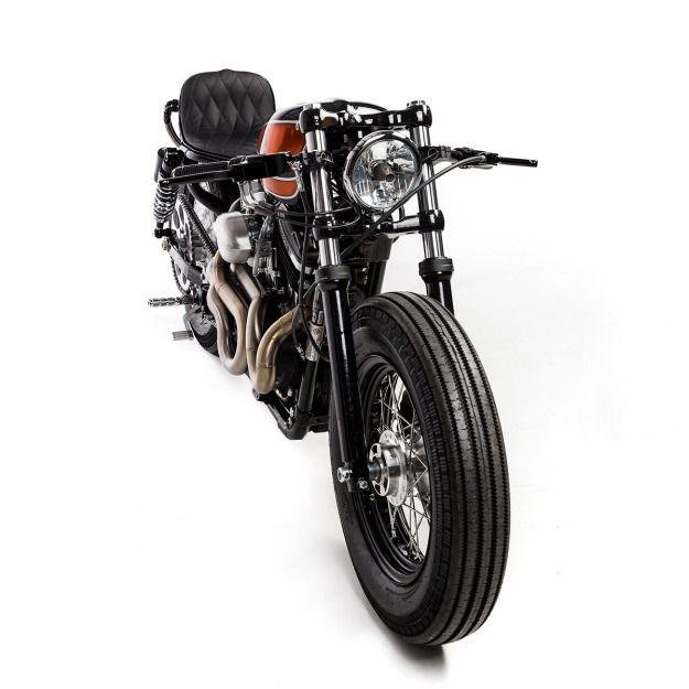 Harley Sportster 48 motorcycle built by Australia's first communal motorcycle workshop, The Kustom Kommune.