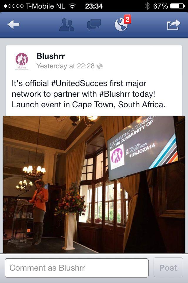 Blushrr & UnitedSucces