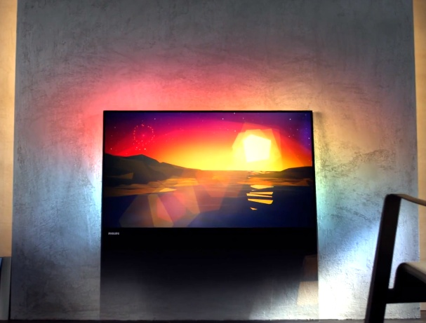This 3D TV was made from a single sheet of glass.